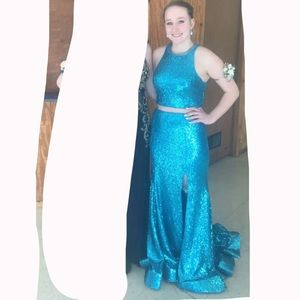 Size 8 Morilee prom dress